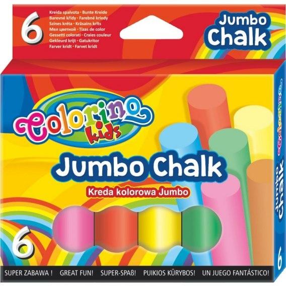 Kreda kolorowa JUMBO, 6 kolorów (65818PTR)